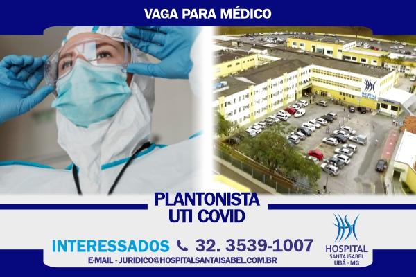 Vaga médico UTI Covid
